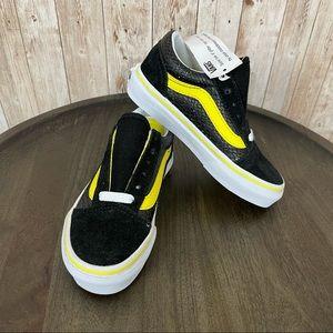 Vans Old Skool Sparkle Snake Girls Sneaker Sz 11